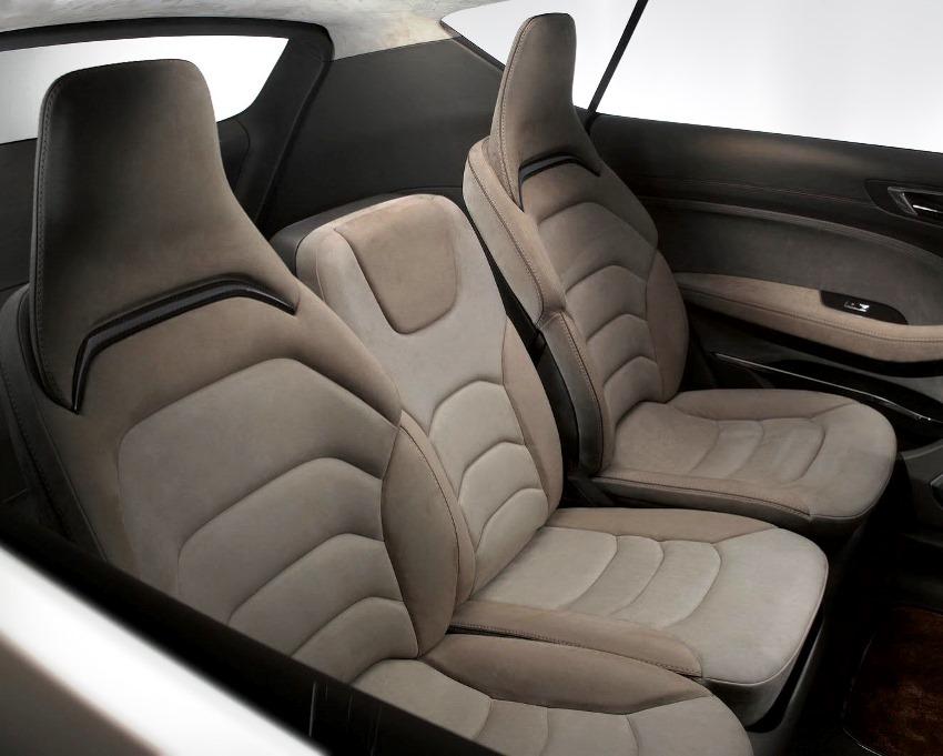 интерьер Ford S-MAX Concept 2013