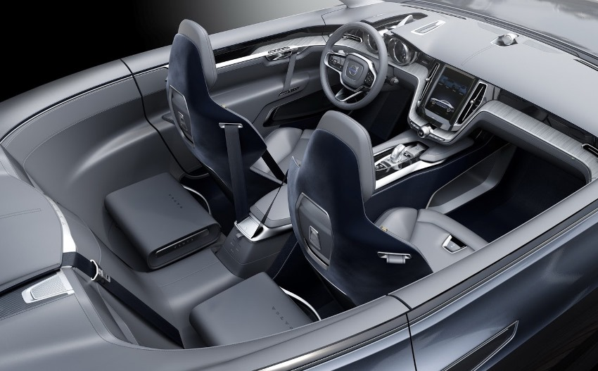 интерьер Volvo Coupe Concept