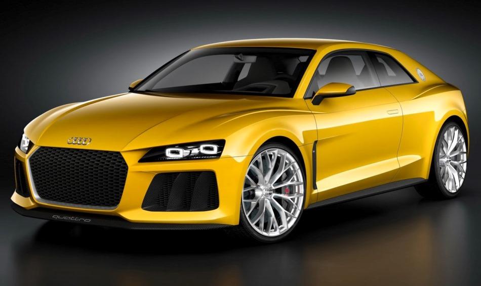 концепт Audi Sport Quattro 2013