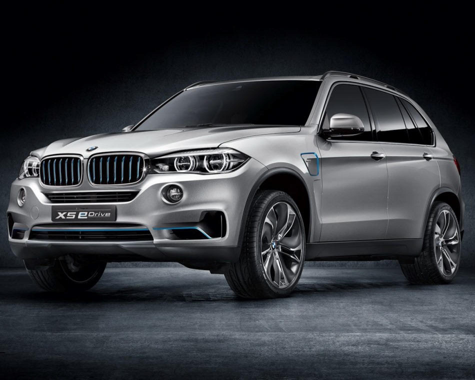 концепт BMW X5 eDrive 2013