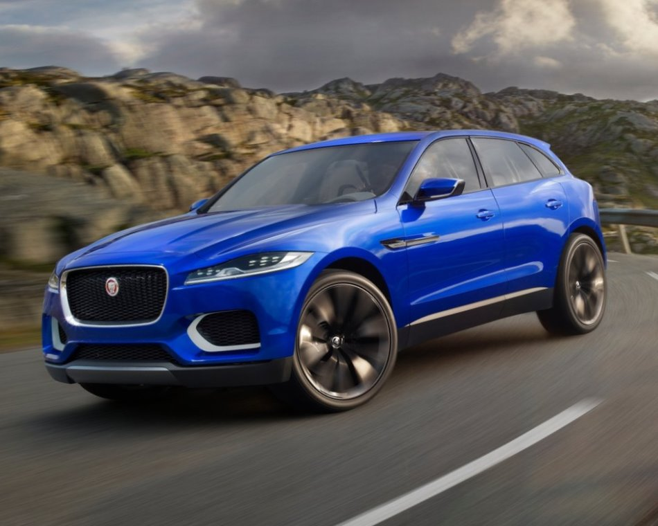 концепт Jaguar C-X17 2013