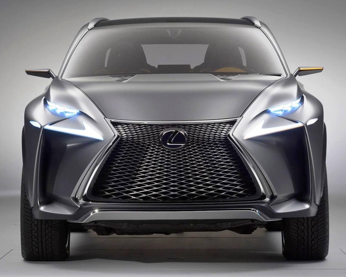 концепт Lexus LF-NX 2013