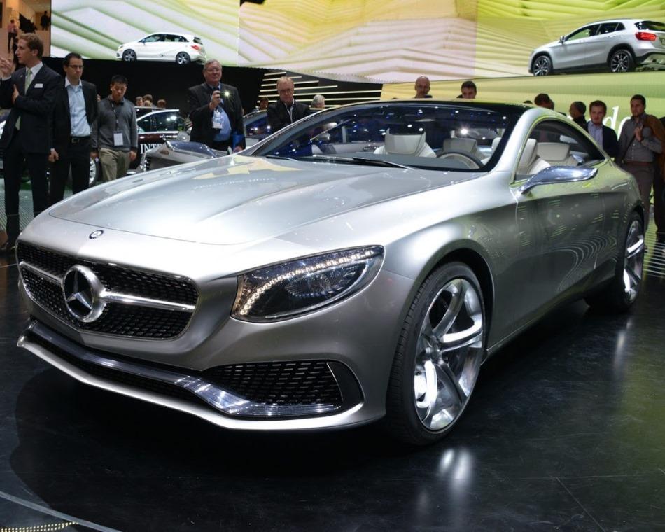концепт Mercedes S-Class Купе 2013