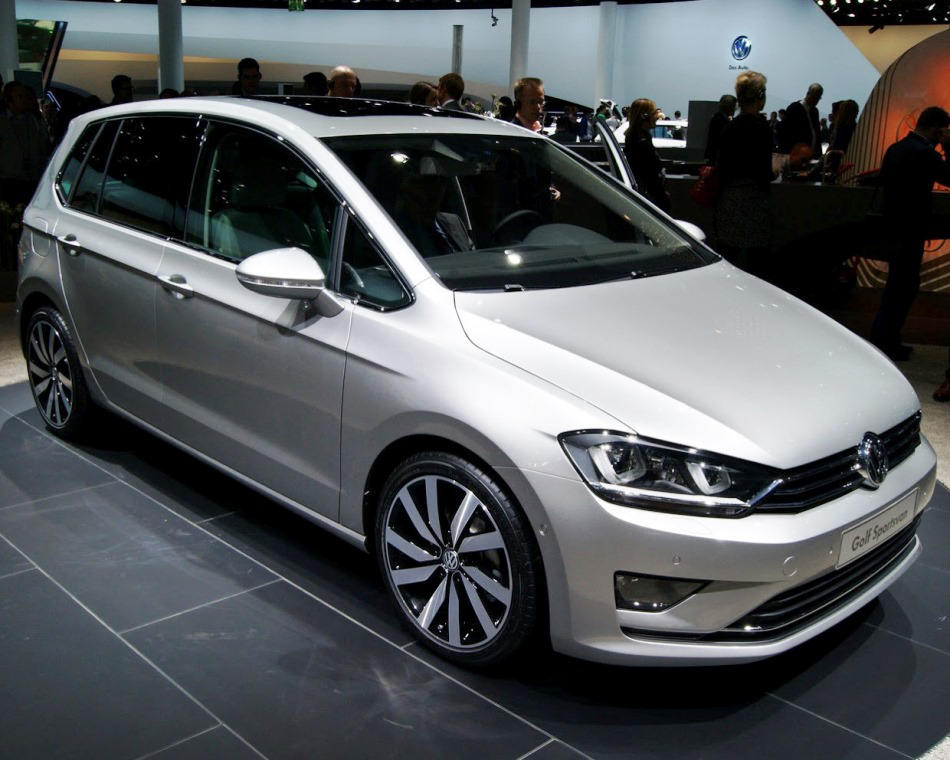 концепт Volkswagen Golf Sportsvan 2013