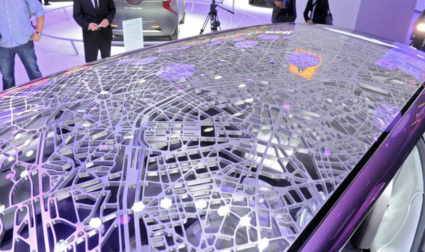крыша концепта Renault Initiale Paris 2013