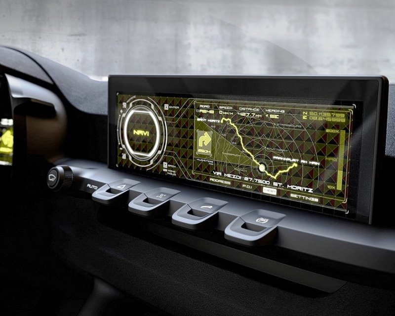 магнитола Kia Niro Concept 2013