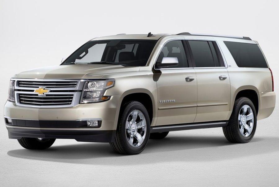 новый Chevrolet Suburban 2015