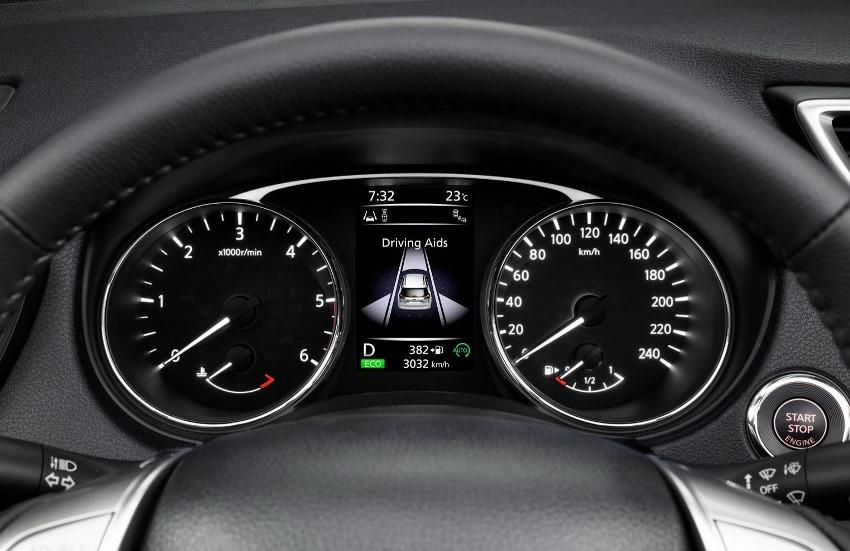 панель приборов Nissan X-Trail 2014