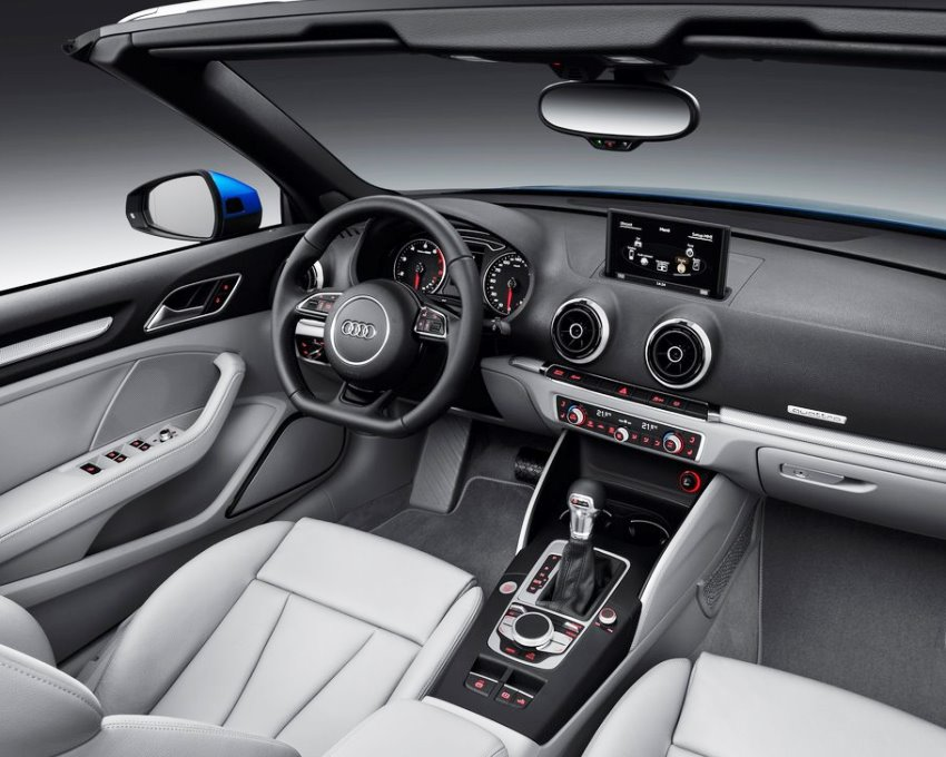 салон Audi A3 Cabriolet 2014