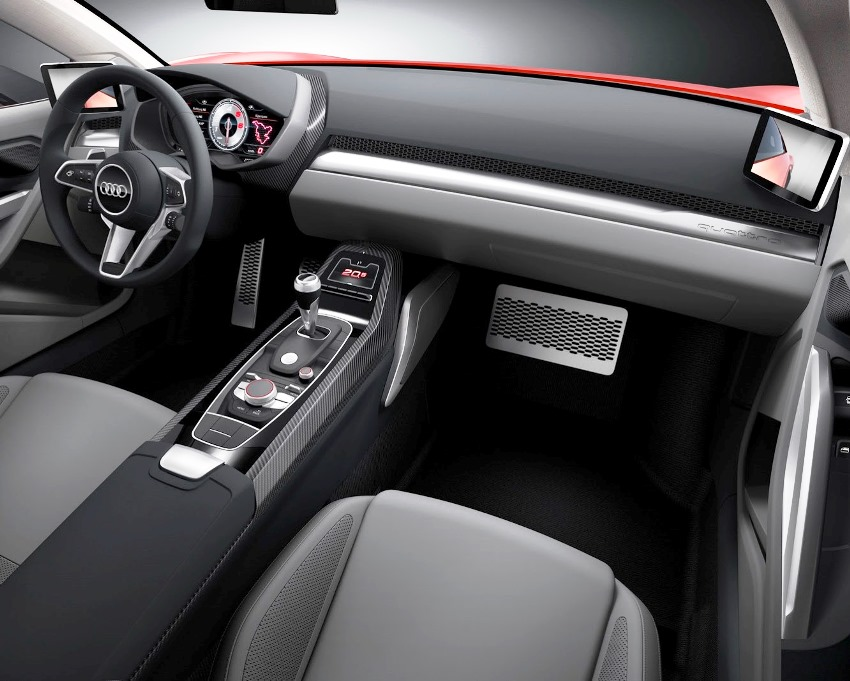салон Audi Nanuk Quattro Concept 2013