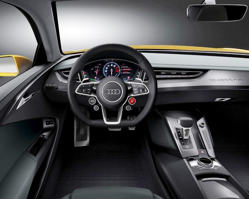 салон Audi Sport Quattro Concept 2013