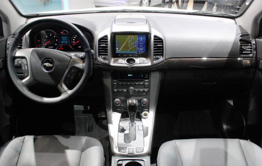 салон Chevrolet Captiva 2014