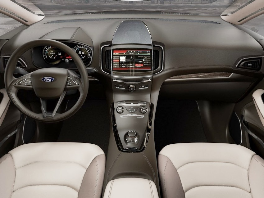 салон Ford S-MAX Concept 2013