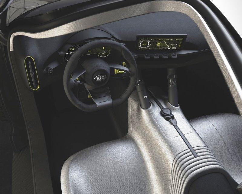 салон Kia Niro Concept 2013