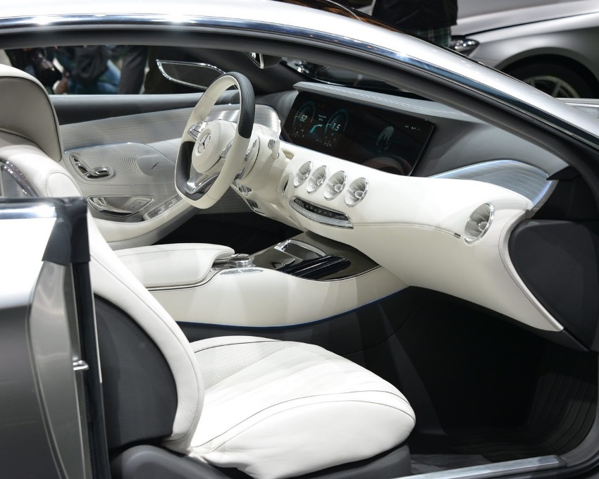 салон Mercedes S-Class Coupe Concept 2013