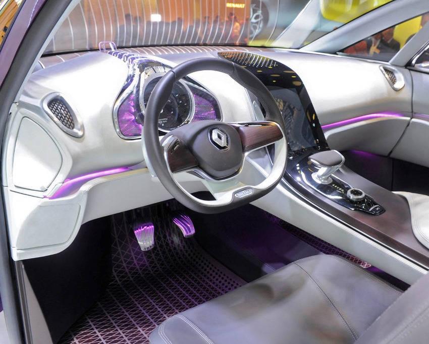 салон концепта Renault Initiale Paris 2013