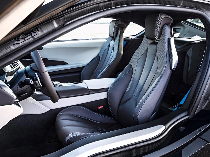 сидения BMW i8 2014