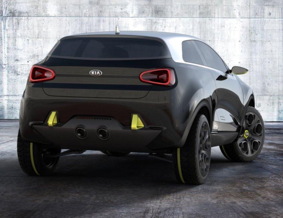 задние фонари Kia Niro Concept 2013