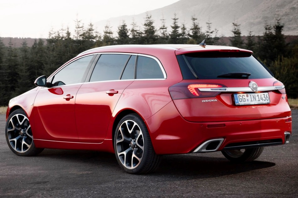 задние фонари Opel Insignia OPC Sports Tourer 2014