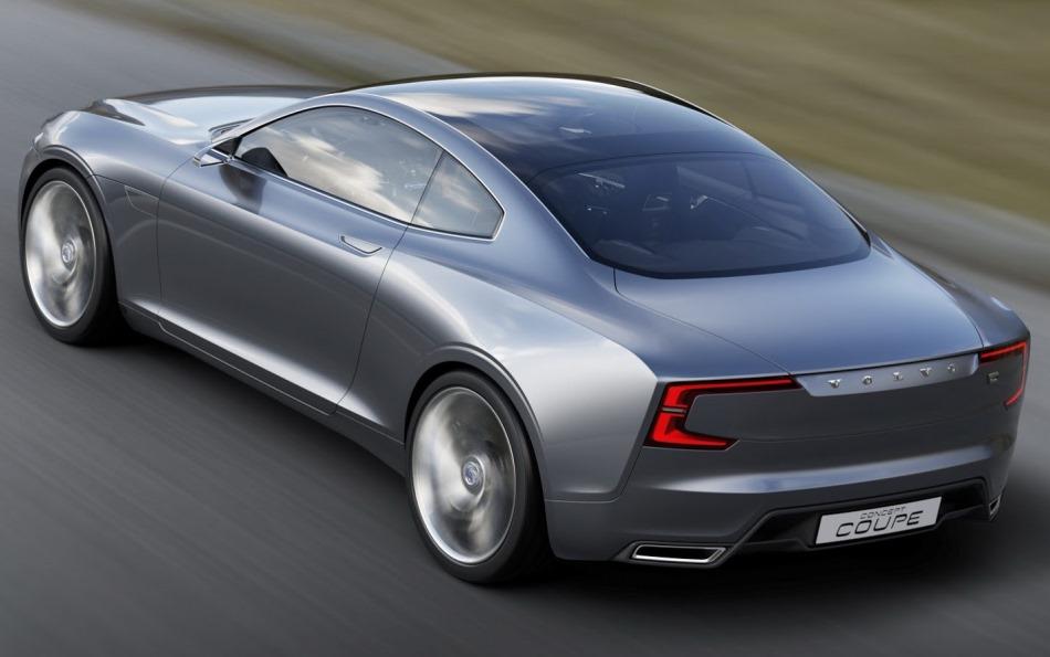 задние фонари концепта Volvo Coupe 2013
