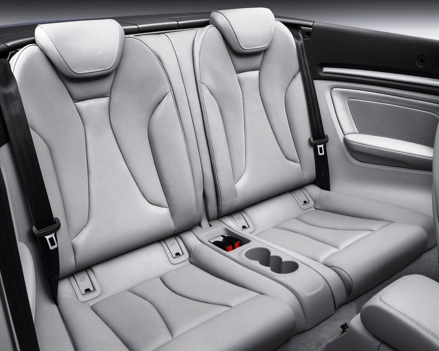 задние сидения Audi A3 Cabriolet 2014