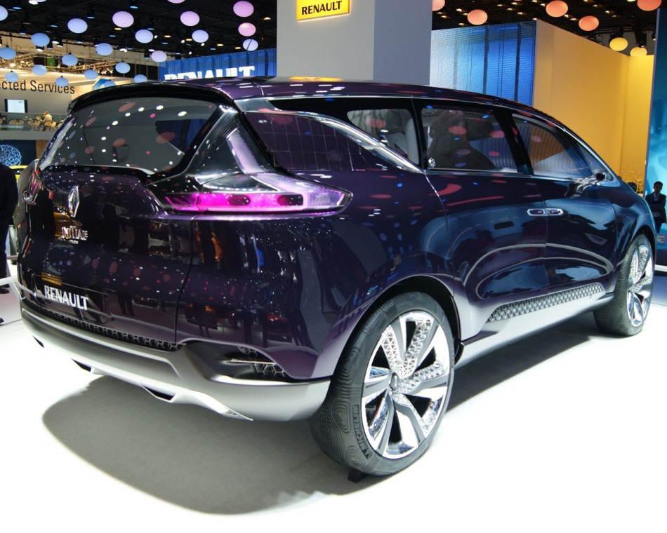 задняя часть Renault Initiale Paris Concept 2013