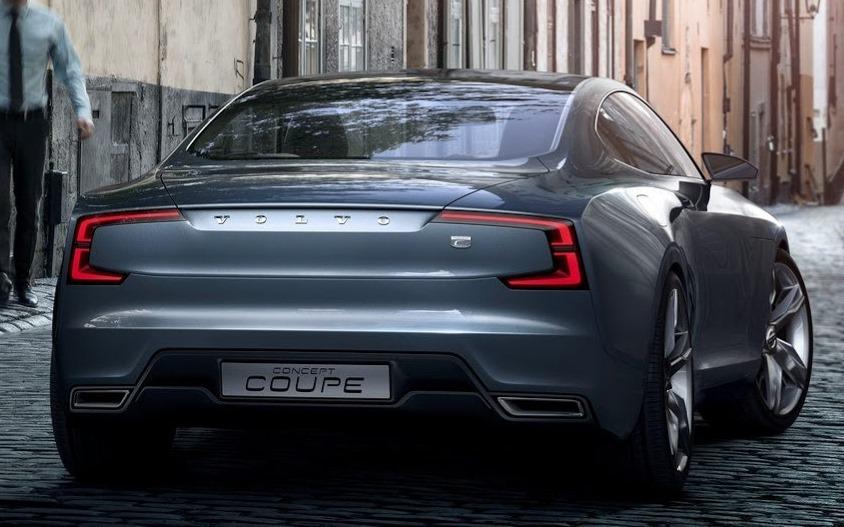 задняя часть Volvo Coupe Concept 2013