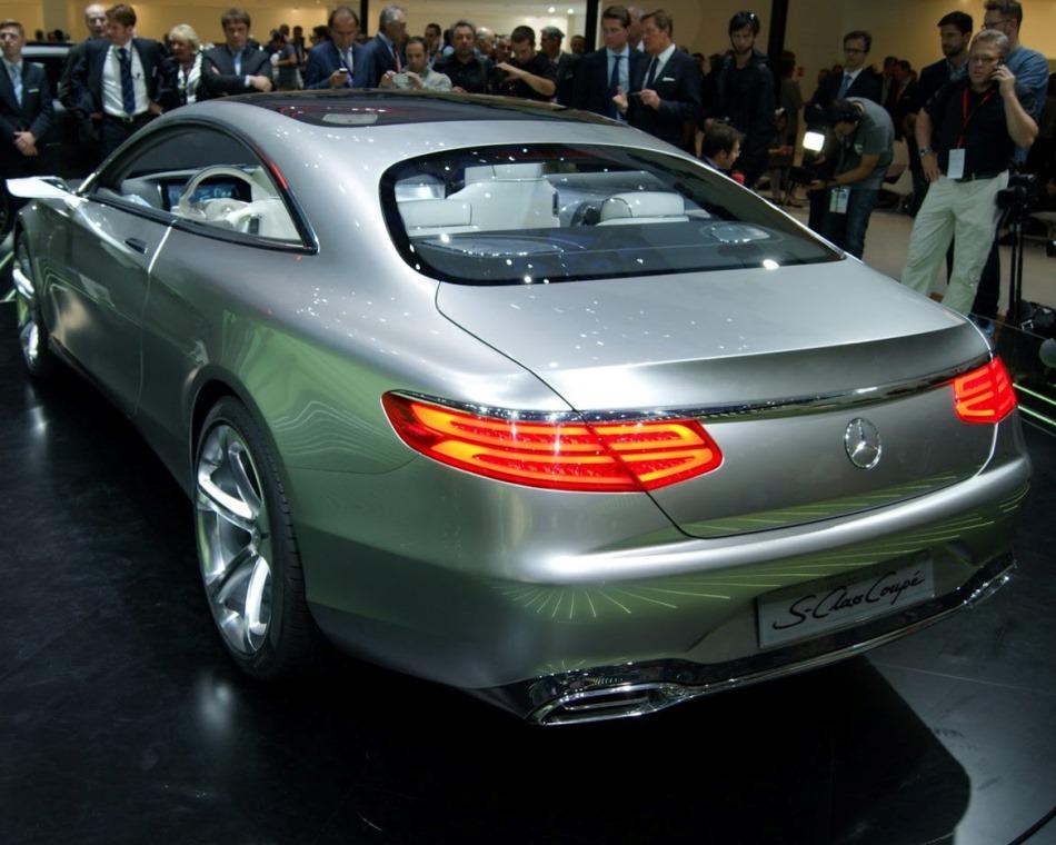 задняя часть концепта Mercedes S-Class Coupe