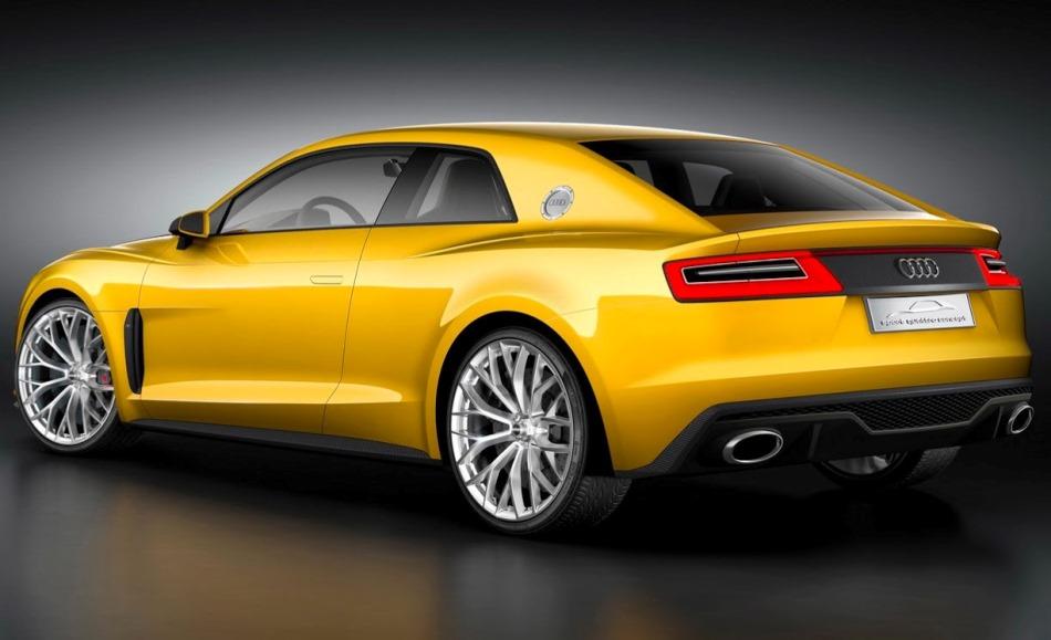 задняя часть кузова Audi Sport Quattro Concept 2013
