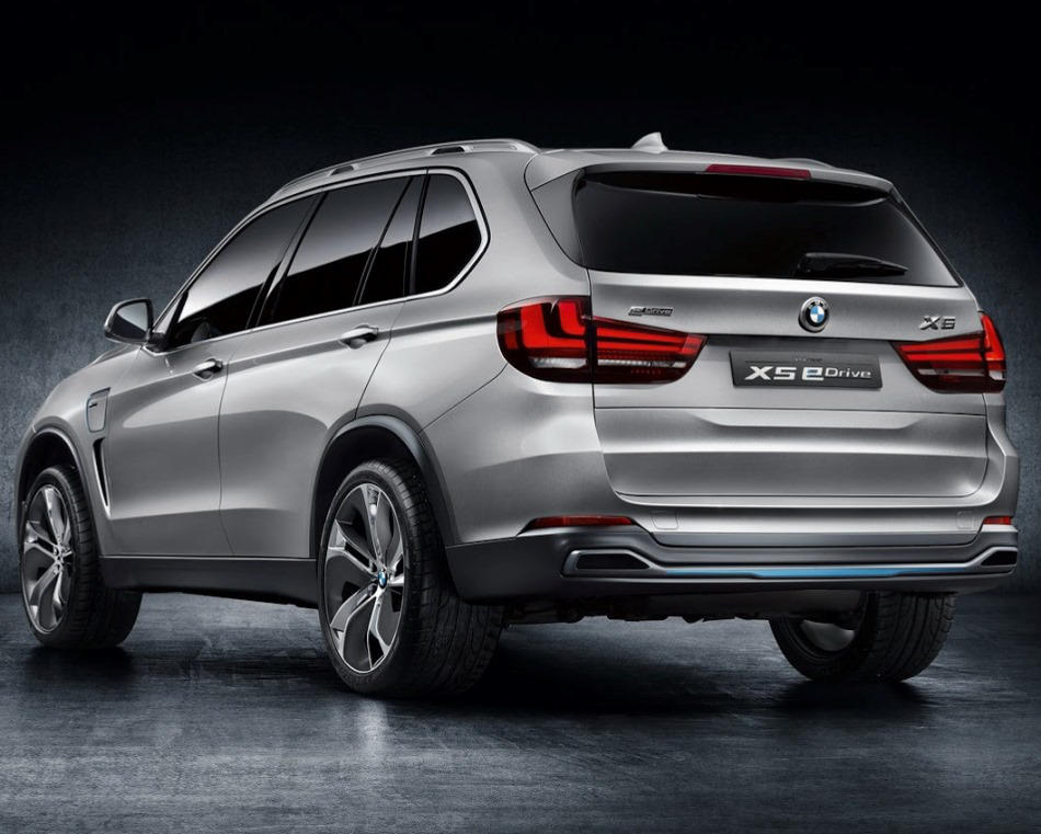 задняя часть кузова BMW X5 eDrive Concept