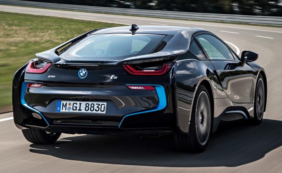 BMW i8 2014: цена, фото, видео, характеристики БМВ i8