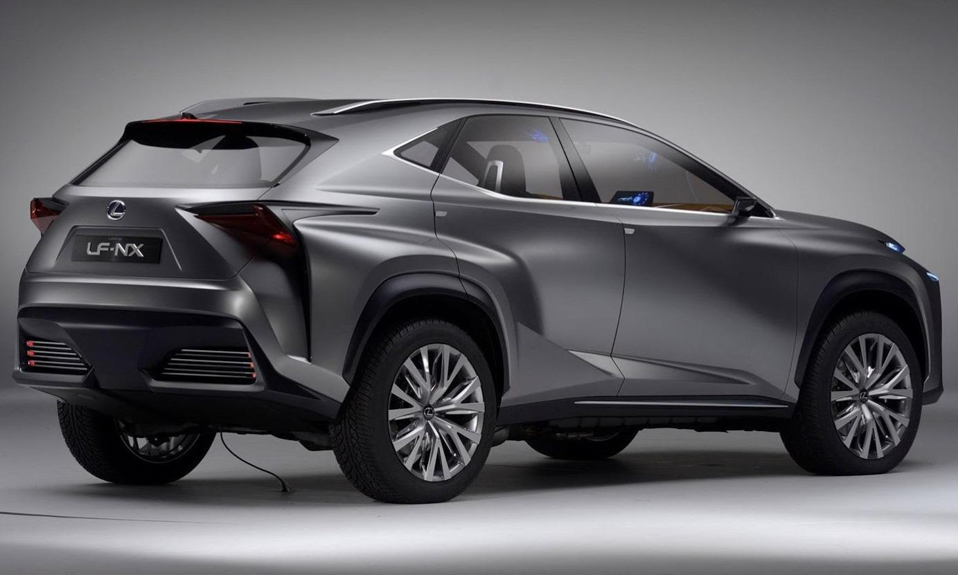 задняя часть кузова Lexus LF-NX Concept 2013