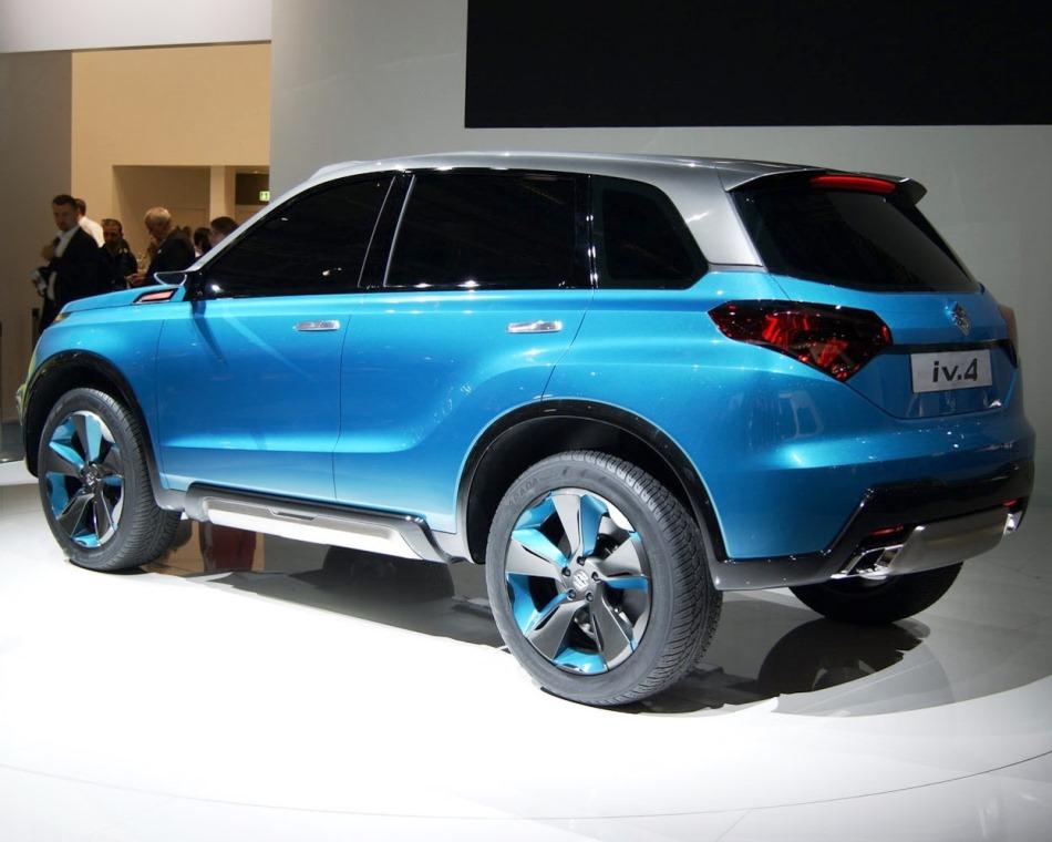 задняя часть кузова Suzuki iV-4 Concept 2013
