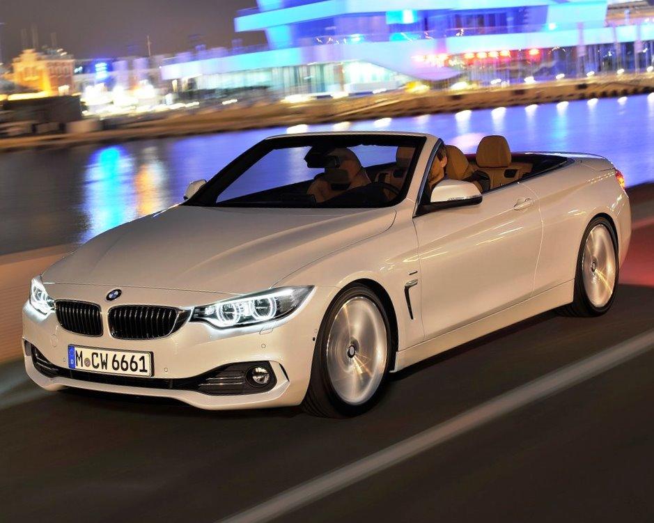 бампер и фары BMW 4-Series Кабриолет 2014