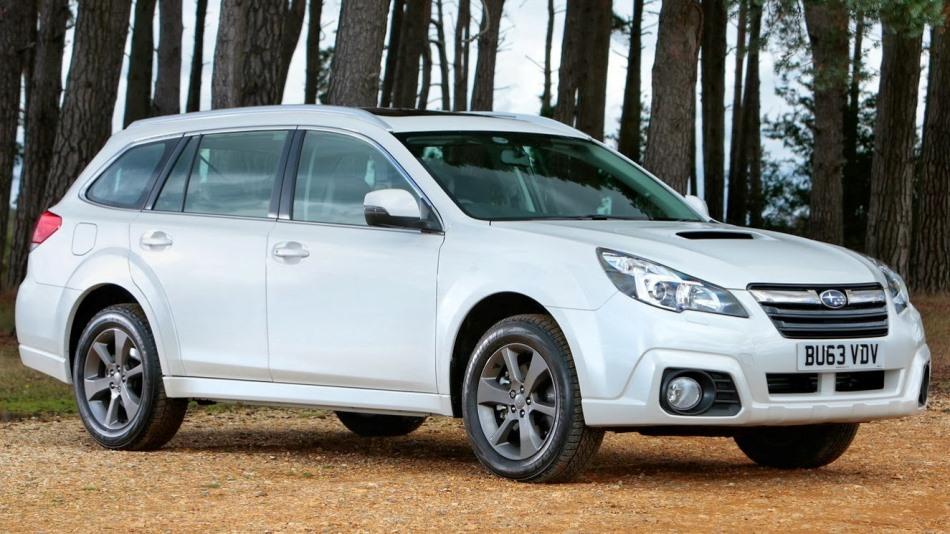 фары и бампер Subaru Outback 2014