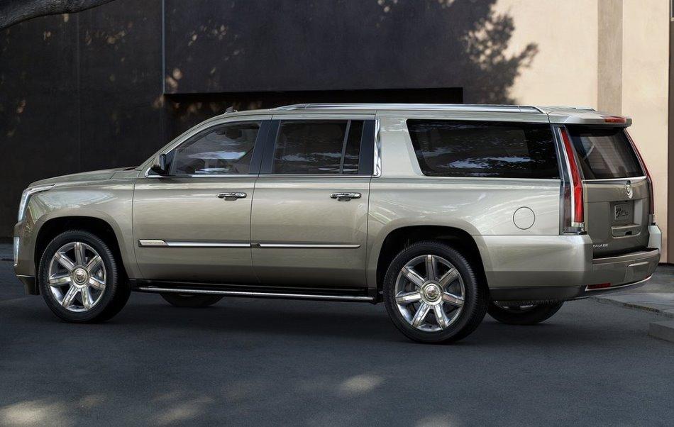 фото Cadillac Escalade 4 сбоку