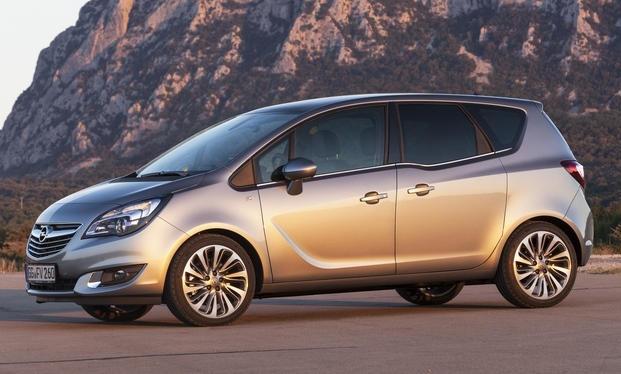 фото Opel Meriva 2014 сбоку