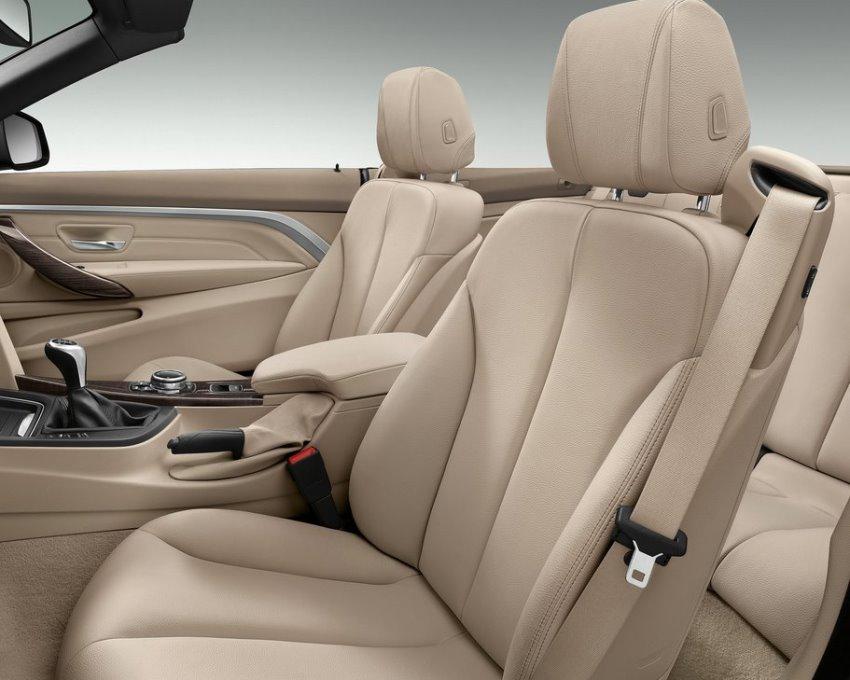 интерьер кабриолета BMW 4-Series 2014
