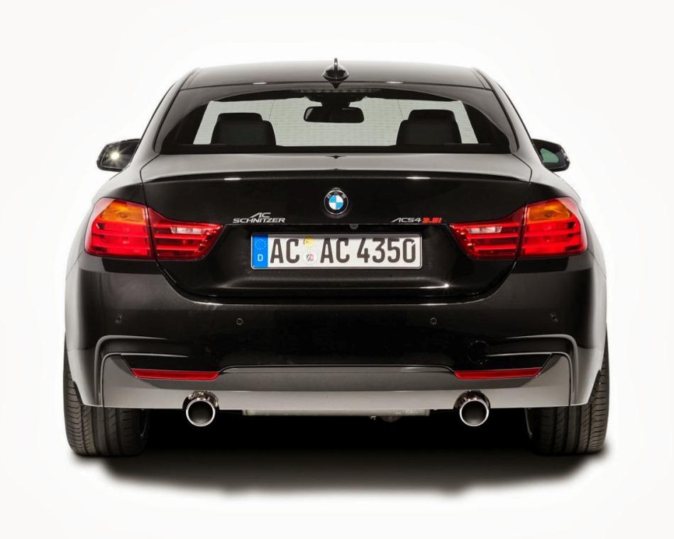 купе BMW 4-Series в тюнинге AC Schnitzer