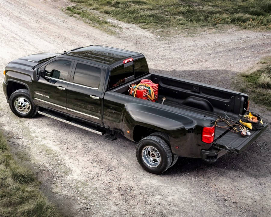 кузов GMC Sierra HD 2015 года