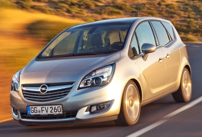 новый Opel Meriva 2014