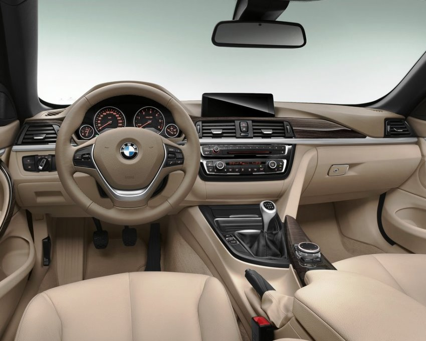 салон BMW 4-Series Convertible 2014