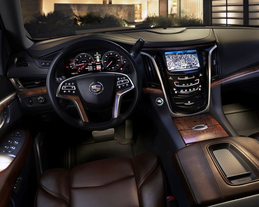 салон Cadillac Escalade 2014