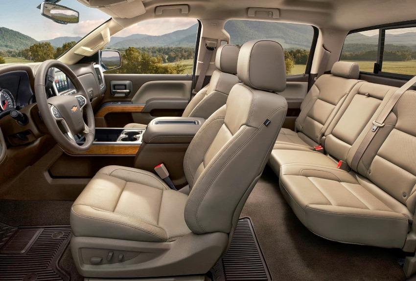 салон Chevrolet Silverado HD 2015