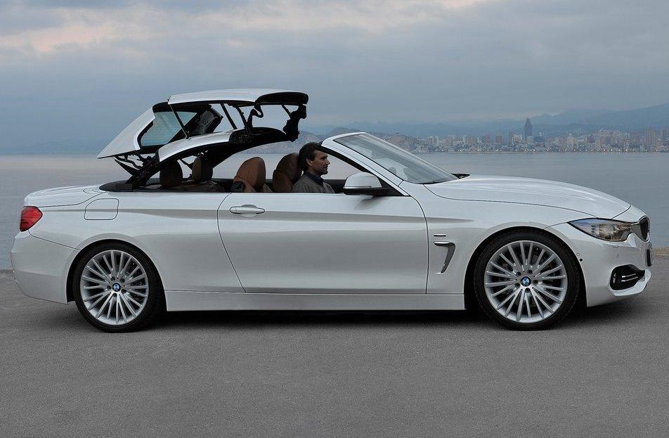 складная крыша кабриолета BMW 4-Series 2014