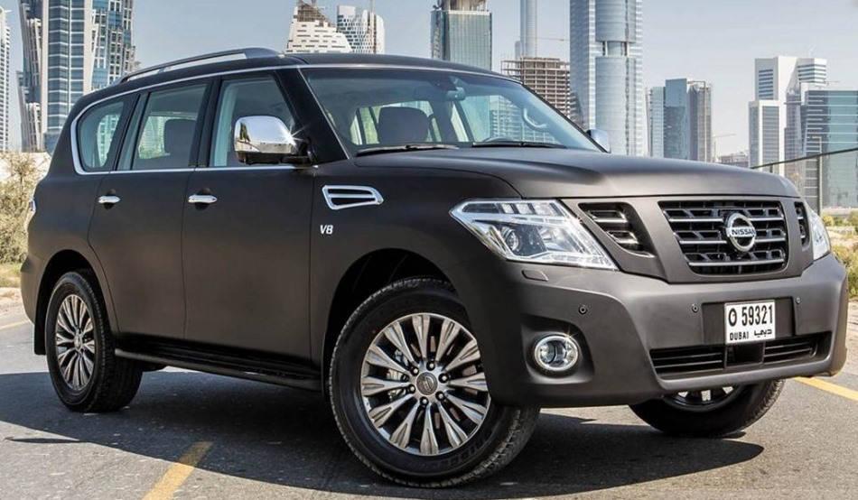 Nissan Patrol Black 2014