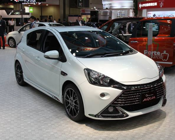 Toyota Aqua G Sports 2014