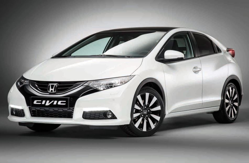 бампер и фары Honda Civic 2014 Хэтчбек