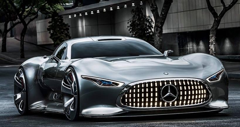 бампер и фары Mercedes Vision Gran Turismo 2013