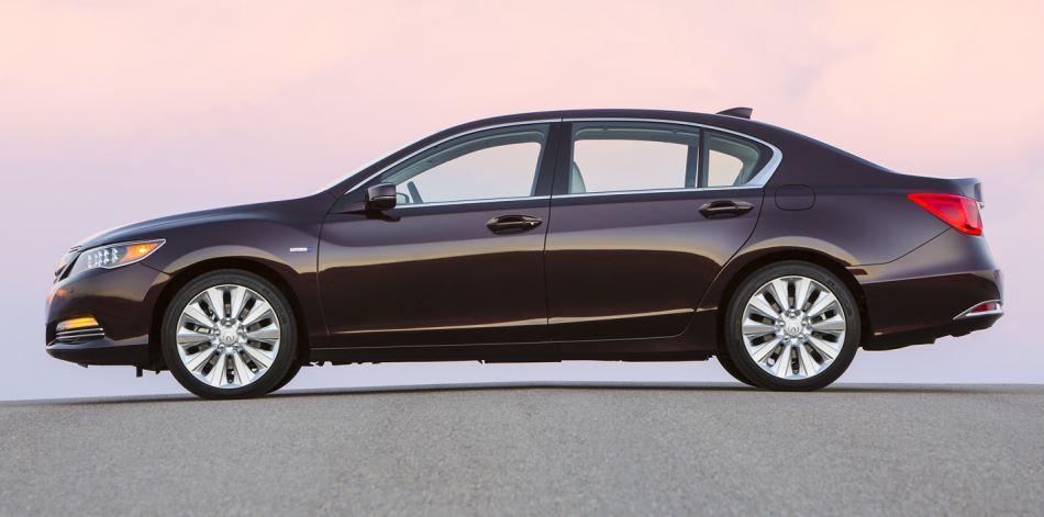 фото Acura RLX Sport Hybrid SH-AWD 2014 сбоку